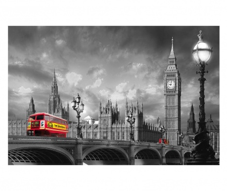 Bus on Westminster Bridge Tapéta 115x175 cm