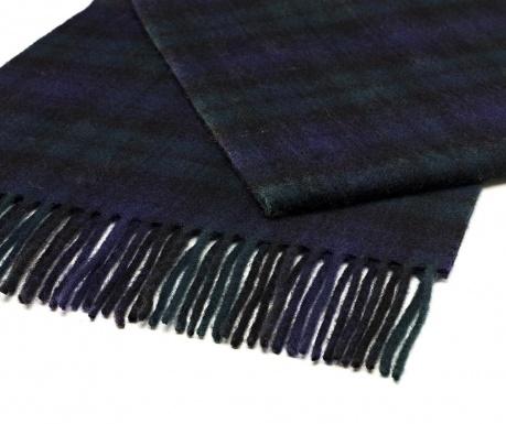 Šál Black & Blue 25x190 cm