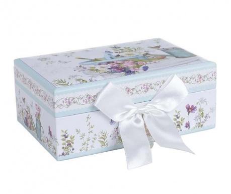 Bow Flower Ékszertartó doboz fedővel