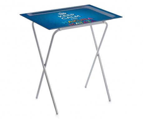 Skládací stolek s podnosem Hakuna Matata
