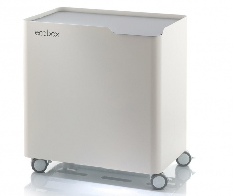 Odpadkový koš na třídění odpadu Ecobox Grey 60 L