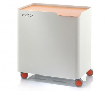 Ecobox Orange Szelektív hulladékgyűjtő szemetes kosár 60 L