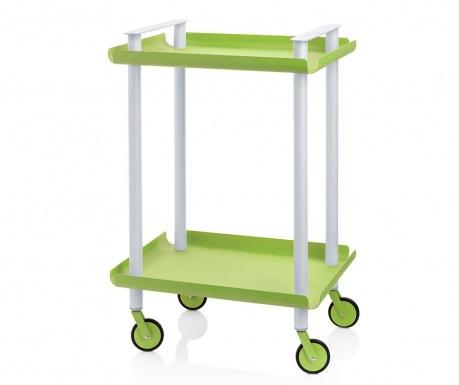 Servírovací vozík Leky Mini Green