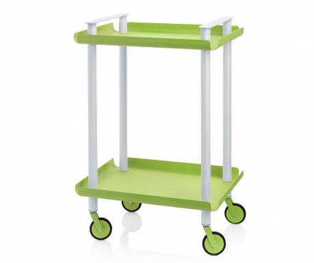 Kolica za posluživanje Leky Mini Green