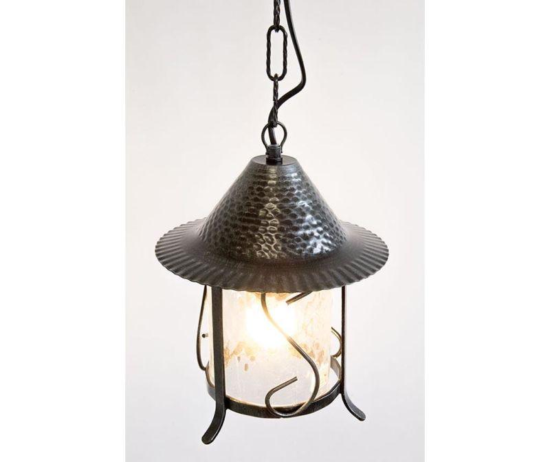 Závěsná lampa Trullo Black