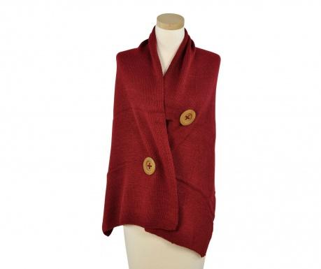 Button Red Női sál 50x180 cm