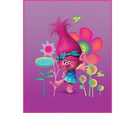 Одеяло Trolls Poppy 110x140 см