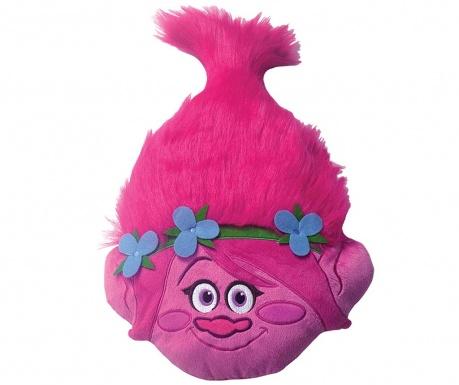 Trolls Poppy 3D Díszpárna 33x54 cm