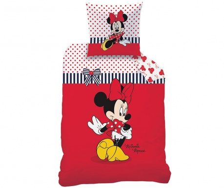 Posteljina Single Ranforce Disney Minnie Sweetie
