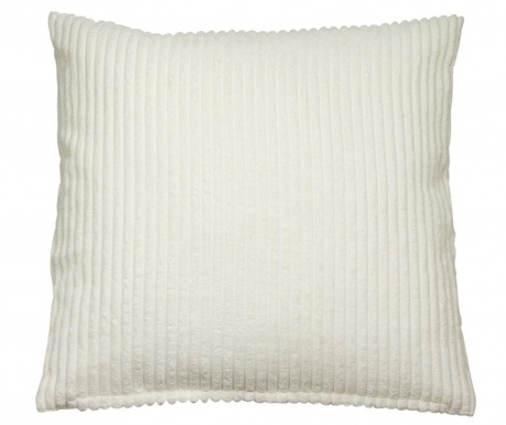 Ukrasni jastuk Corduroy White 45x45 cm