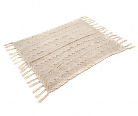 Pokrivač Gliss Knitted Beige 125x150 cm