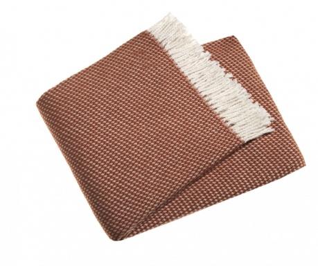 Priročna odeja Ruby Terracotta 140x180 cm