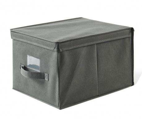 Shranjevalna škatla s pokrovom Misha Grey