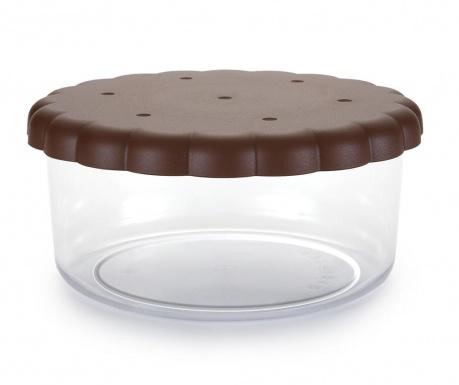 Съд с капак за бисквити Round Sweet