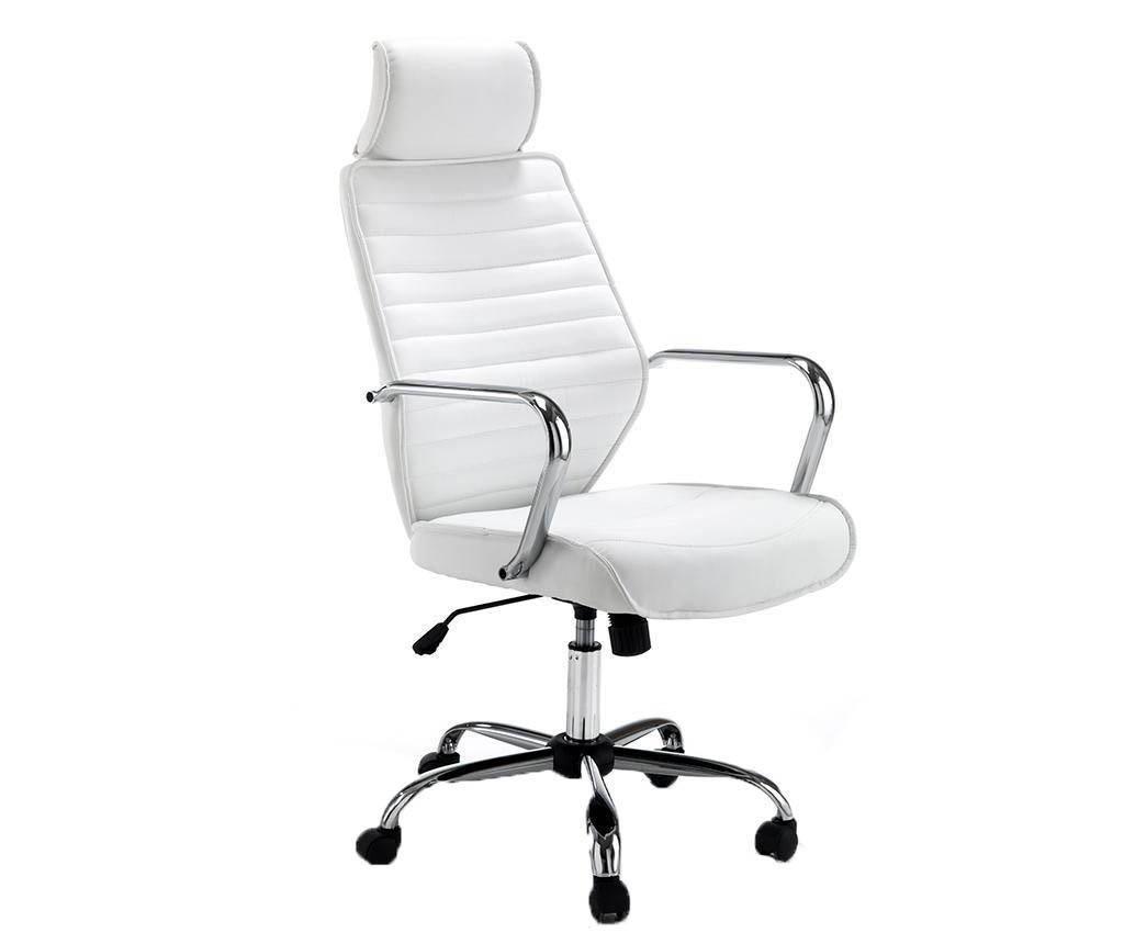 Pisarniški stol Evolution White