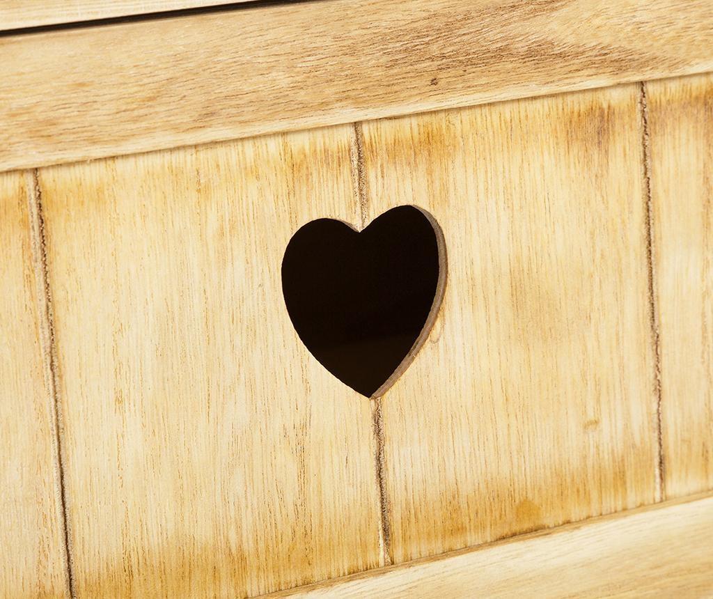 Rustic Heart Szekrényke M