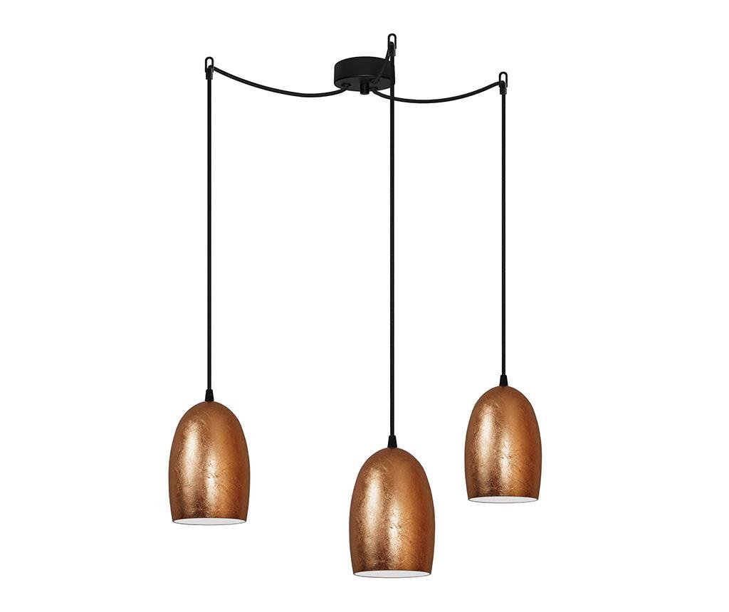 Lustra Ume Triple Met Copper - Sotto Luce, Galben & Auriu