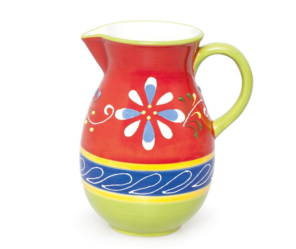 Carafa Ethnic 1 L - Excelsa, Rosu,Multicolor