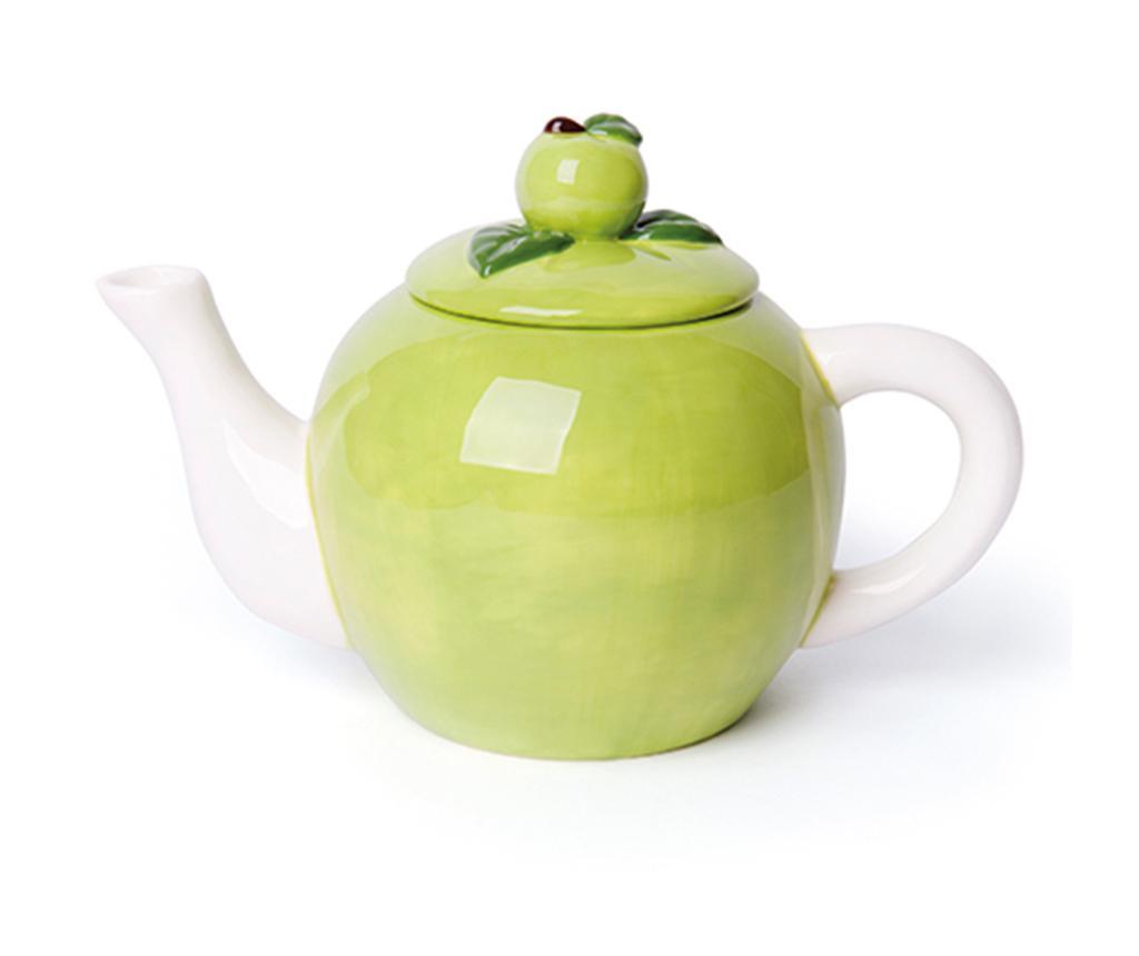 Ceainic Apple 900 ml - Excelsa, Verde