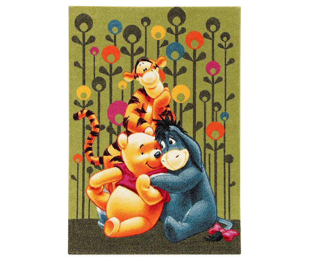 Covor Winnie and Friends Hug 133x190 cm - Viva, Verde