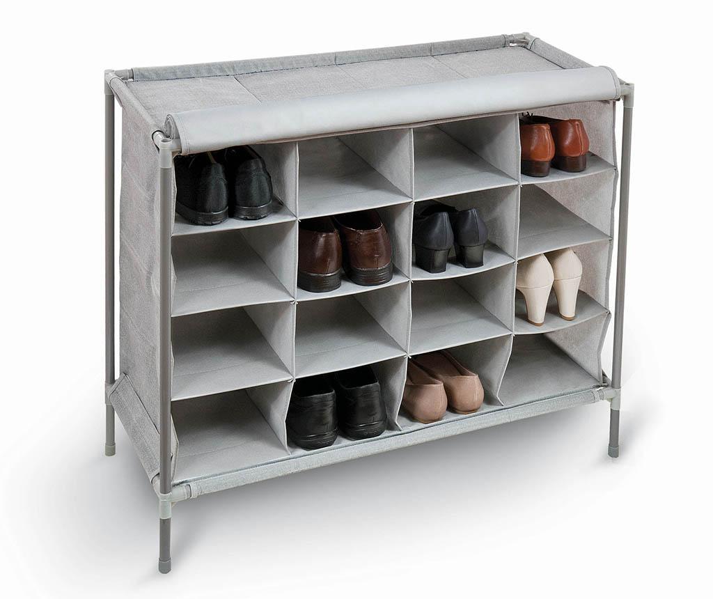 Pantofar Clara - Domopak Living, Gri & Argintiu