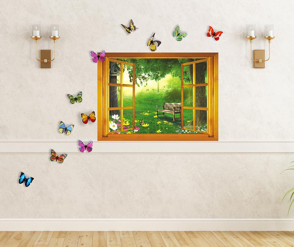 Set 11 stickere Garden View - Walplus, Multicolor