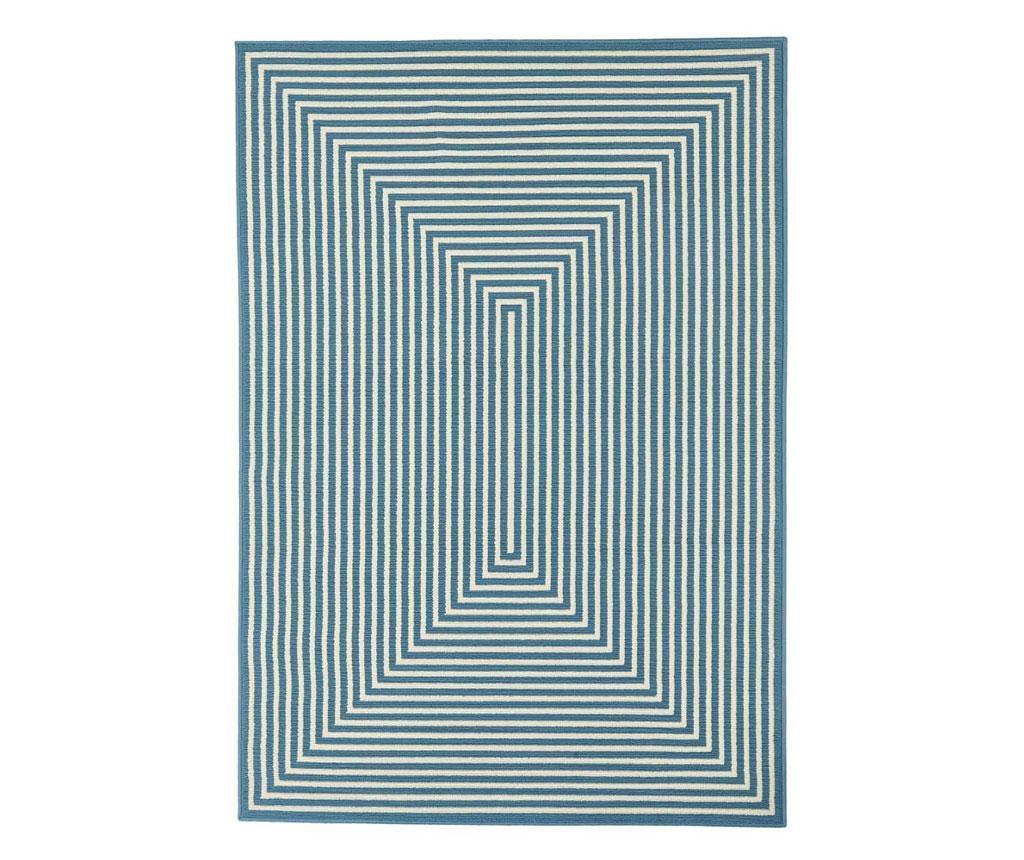Covor Braid Light Blue 160x230 - Floorita