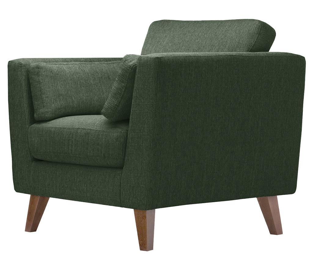 Fotelja Elisa Dark Green