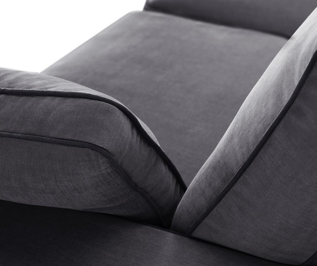 Kauč trosjed Serena Anthracite