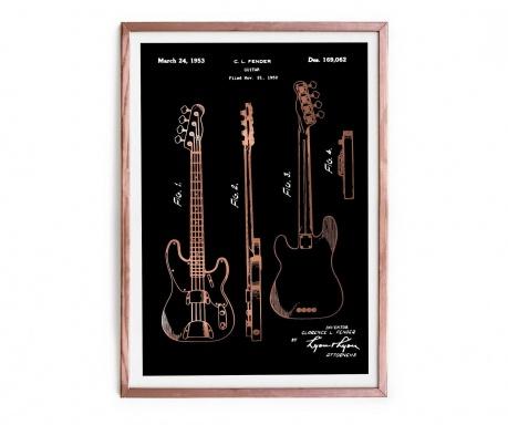 Slika Fender Guitar 43x63 cm