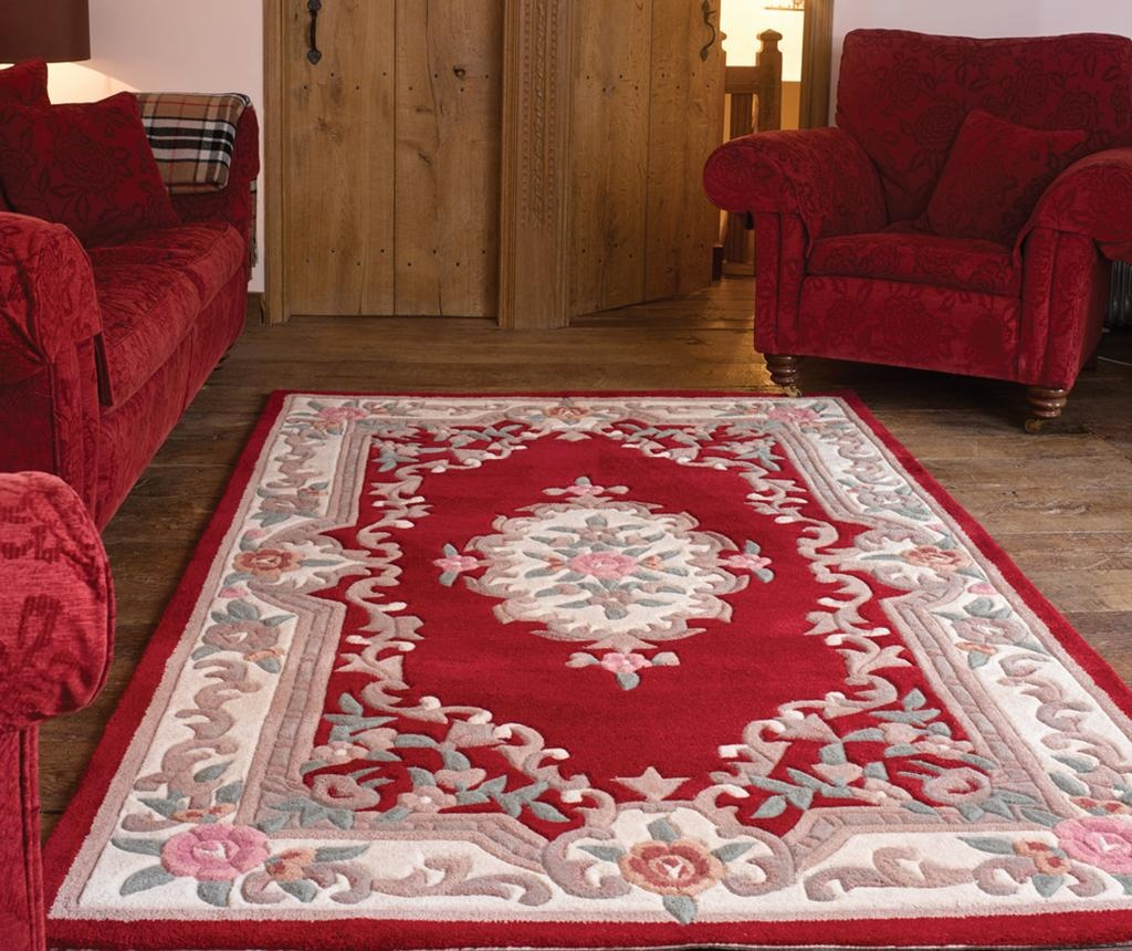 Tepih Aubusson Red 120x180 cm