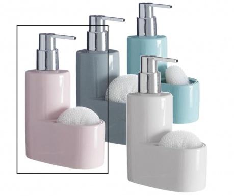 Dispenser detergent lichid si burete Pastel Pink