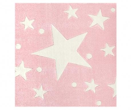 Covor Stars Pink White