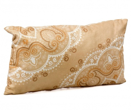 Dekorační polštář Beige Swirls 30x50 cm