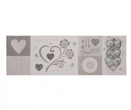 Hearty Festmény 50x150 cm
