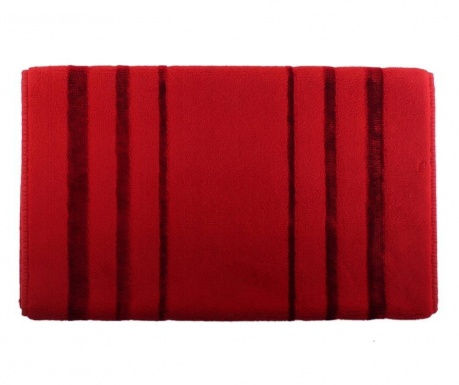Prosop de picioare Charleston Red 60x100 cm