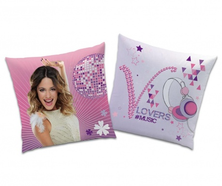 Disney Violetta Concert Díszpárna 40x40 cm