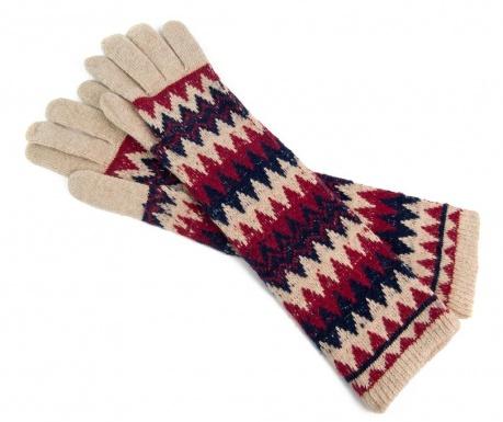 Manusi lungi Winter Stripes