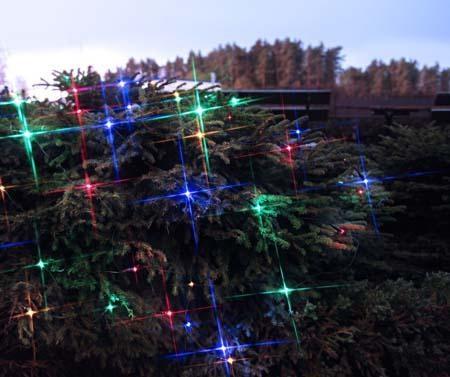 Светеща инсталация за екстериор Glow 100x200 см