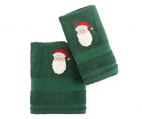 Set 2 kopalniških brisač Father Noel Green