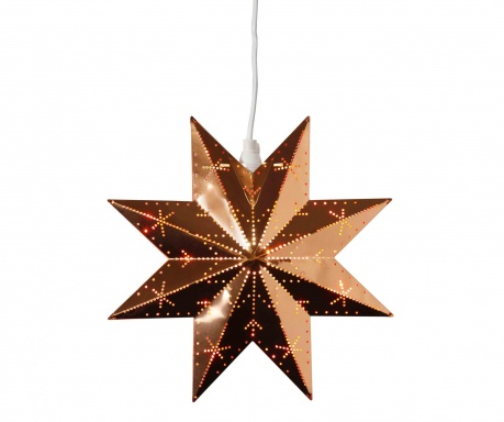 Decoratiune luminoasa suspendabila Star Copper