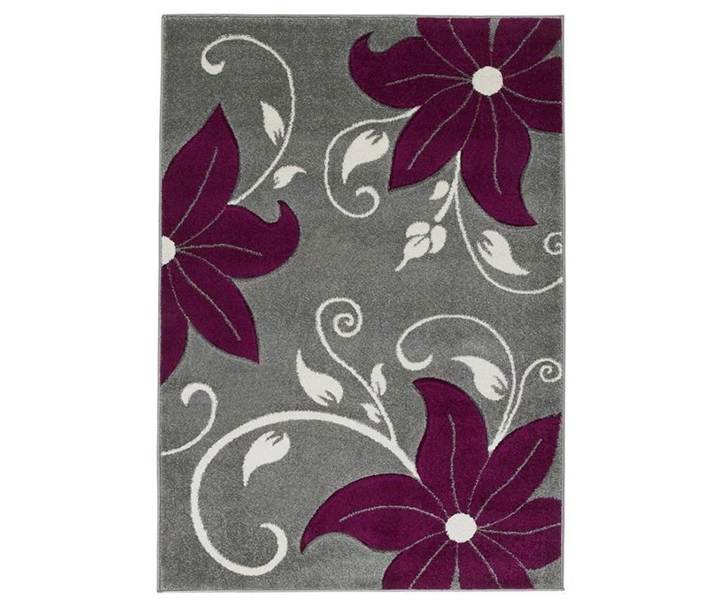 Koberec Verona Grey and Purple 120x170 cm