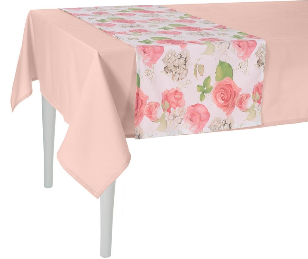 Flowery Pink Asztali futó 40x140 cm