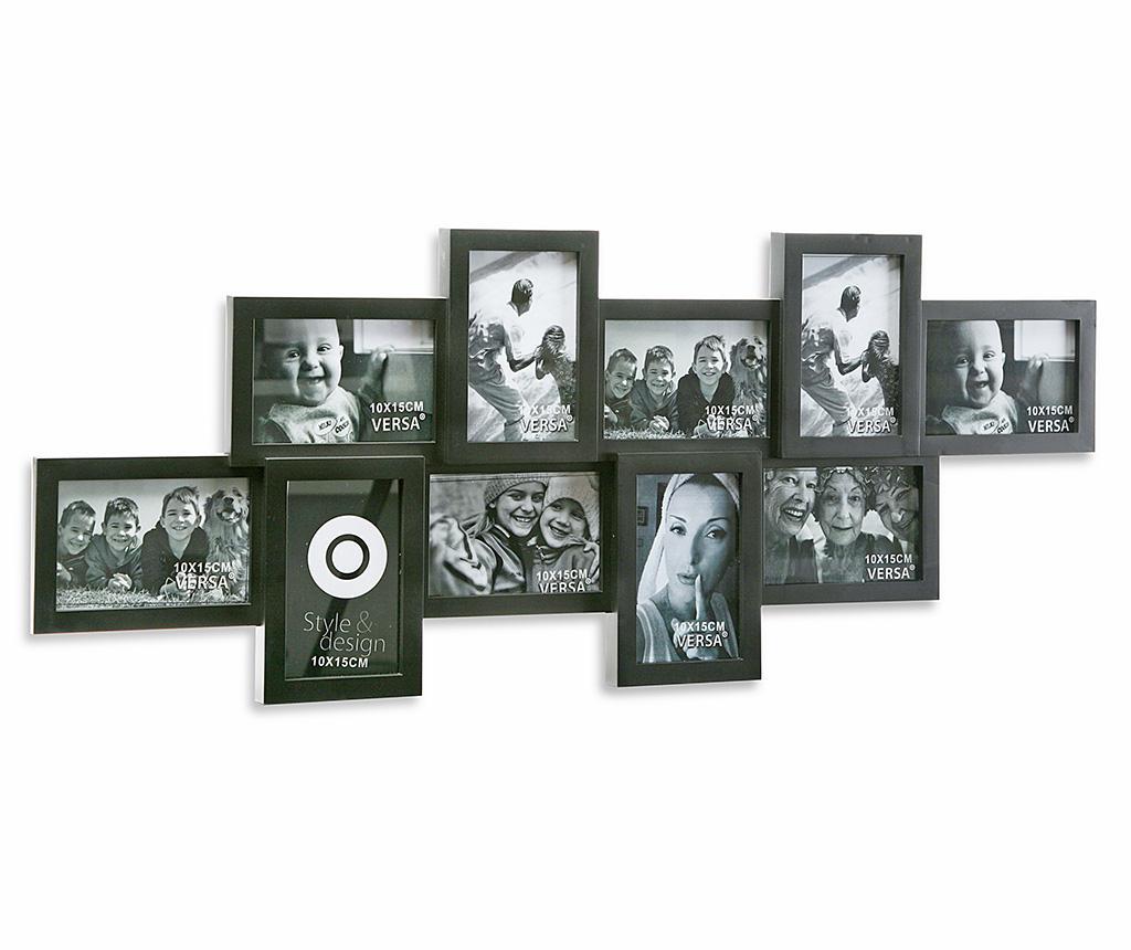 Rama 10 fotografii Teser Black - Versa, Negru