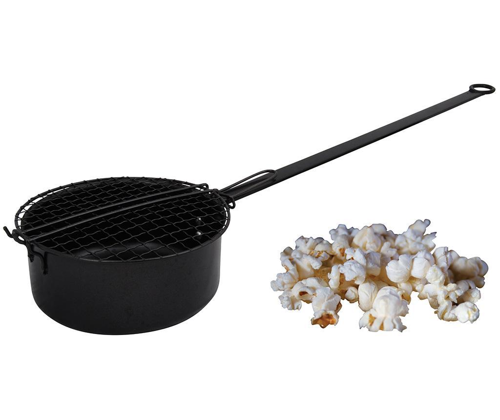 Cratita pentru popcorn Brent Outdoor - Esschert Design, Negru