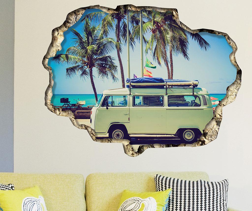 Sticker 3D Camper Van - BeeStick, Multicolor