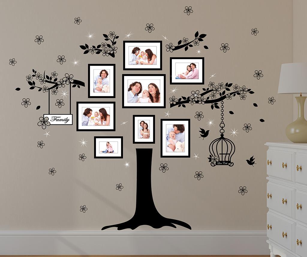 Sticker Huge Family - Wallplus, Negru imagine 2021