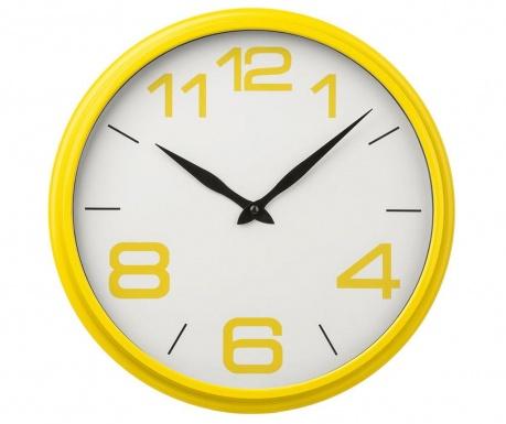 Ceas de perete Patrick Yellow
