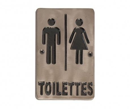 Декорация за врата Toilettes
