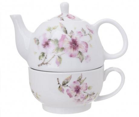 Set ceainic cu ceasca Charlotte